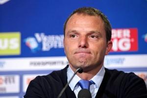 Maurice Steijn, coach van VVV-Venlo. © ANP