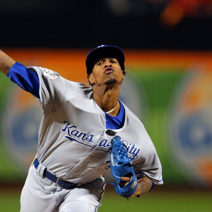 Pitcher Yordano Ventura van Kansas City Royals © Reuters