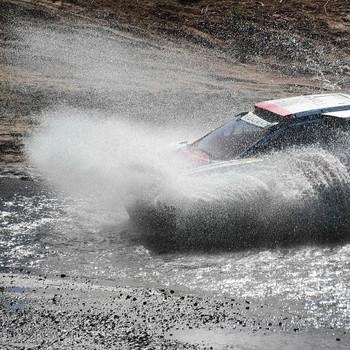 Noodweer speelt een voorname rol in de Dakar Rally van 2017. © AFP