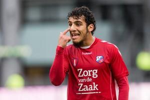 Yassin Ayoub: 'Het is hier hartstikke tof in Utrecht, maar het betekent niet dat ik Ajax nu opeens haat'. © PRO SHOTS