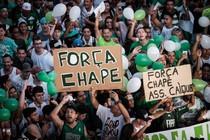 Fans van Chapecoense. © AFP
